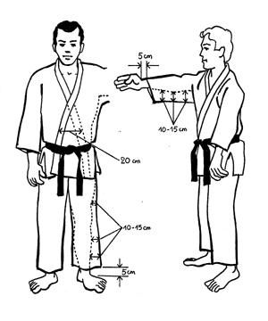 Les judokas doivent porter un judogi respectant les consignes ci-après  0b7c5dff9c5